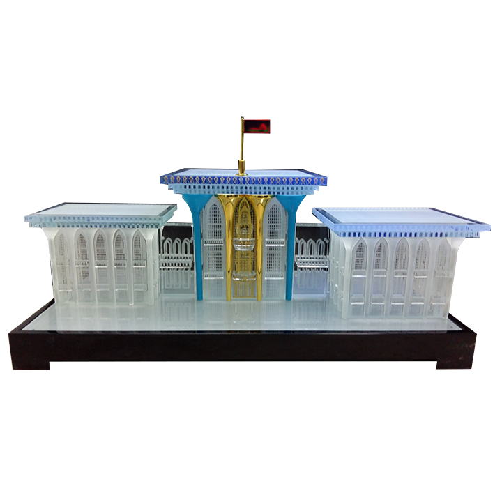 Corporate 3D Small Scale Model