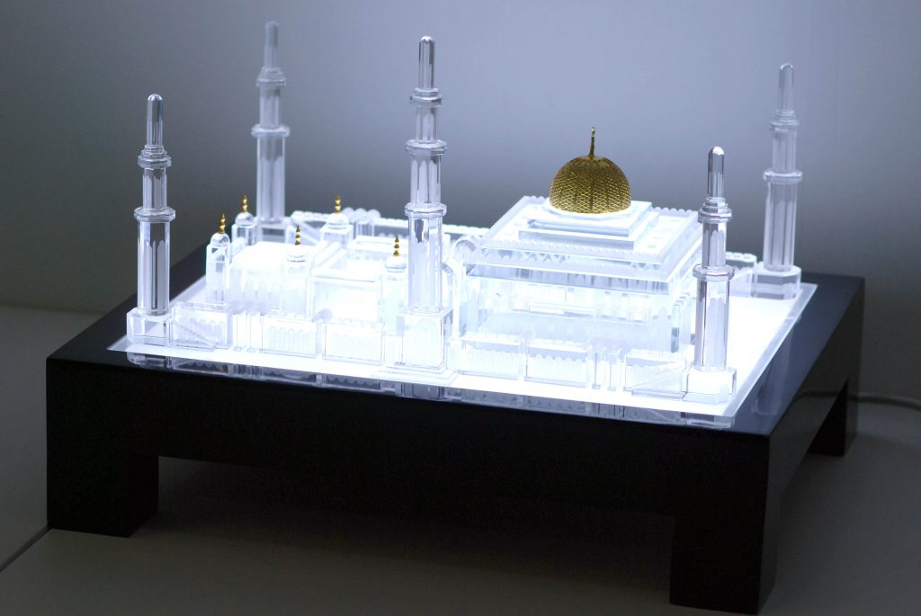 CRYSTAL GRAND MOSQUE 3D Model