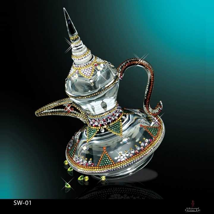 Coffee Pot Swarovski