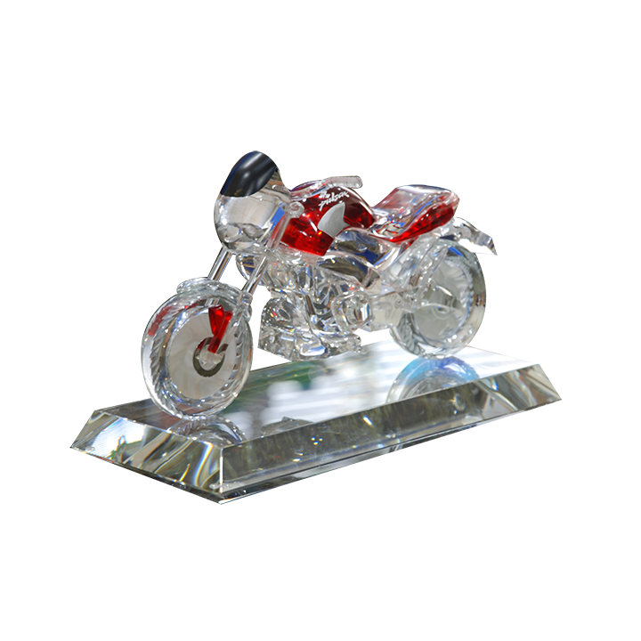 Crystal Motor Bike