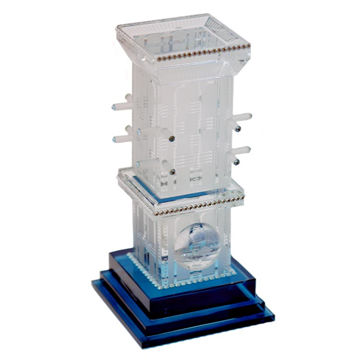 Crystal Wind Tower UAE 3D model