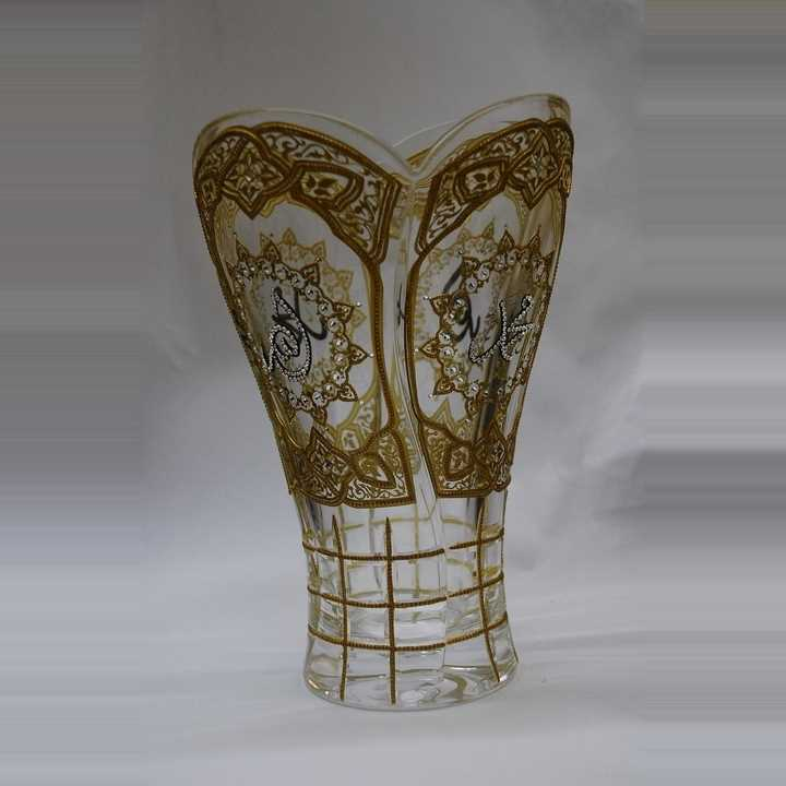 Engrave Vase with Swarovski