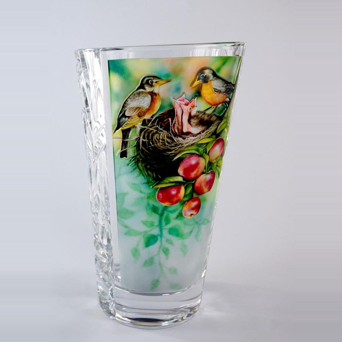vase with 3d painting