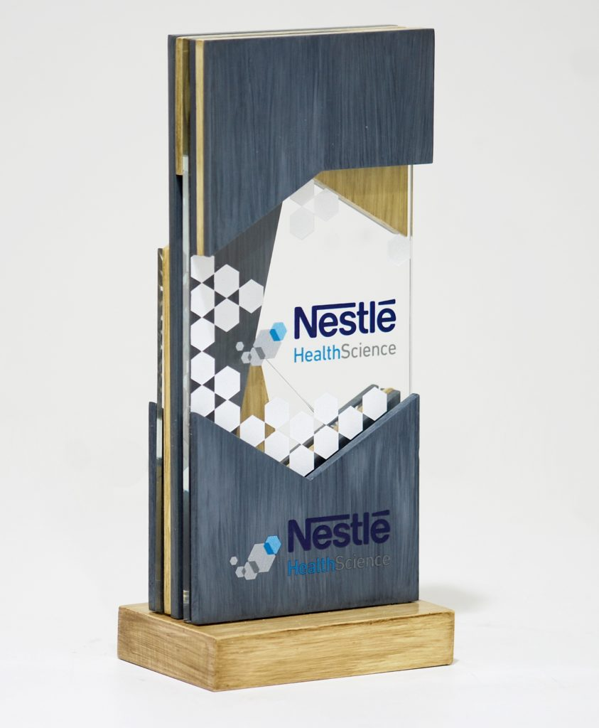 nestle display stand